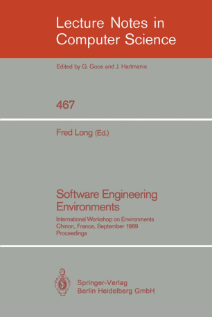 Software Engineering Environments