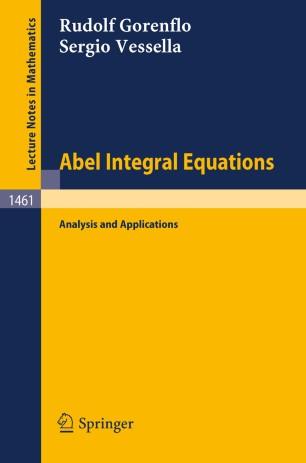 Abel Integral Equations