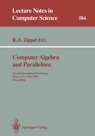 Computer Algebra and Parallelism