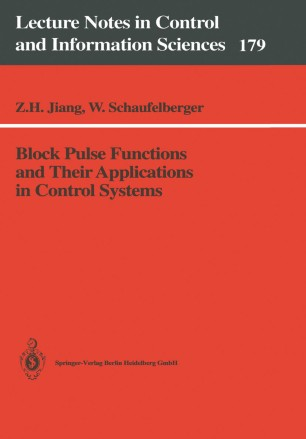 Block Pulse Functions and Their Applications in Control Systems