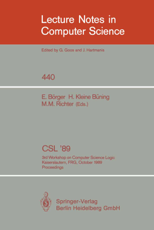 CSL '89