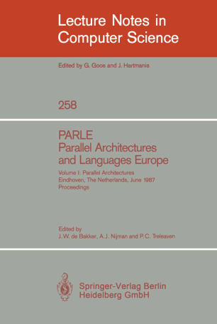PARLE Parallel Architectures and Languages Europe