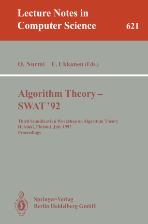 Algorithm Theory — SWAT '92