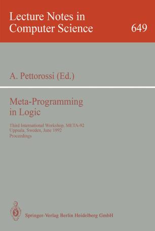 Meta-Programming in Logic