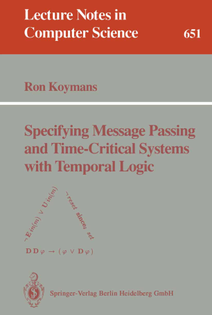 Specifying Message Passing and Time-Critical Systems with Temporal Logic