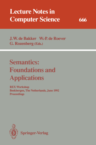 Semantics: Foundations and Applications