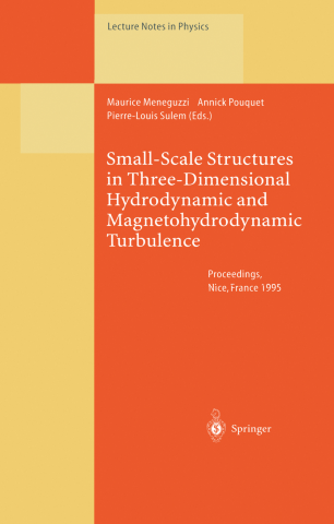 Small-Scale Structures in Three-Dimensional Hydrodynamic and