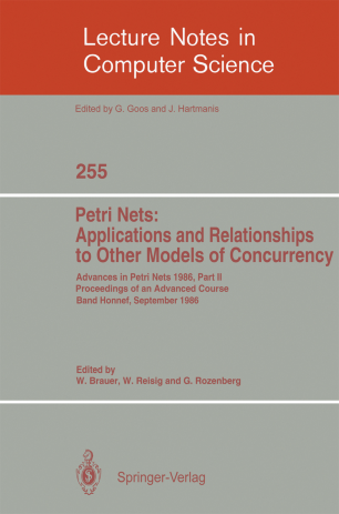Petri Nets: Applications and Relationships to Other Models of Concurrency