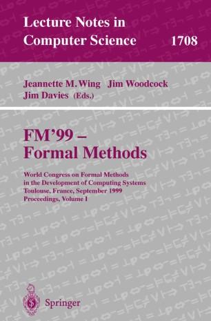 FM'99 — Formal Methods