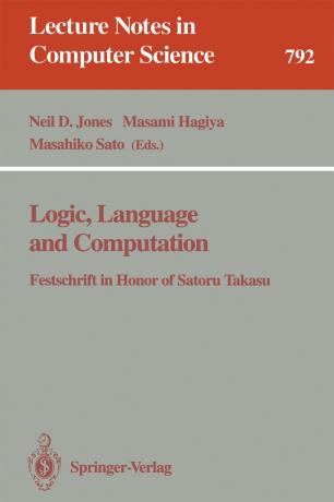 Logic, Language and Computation