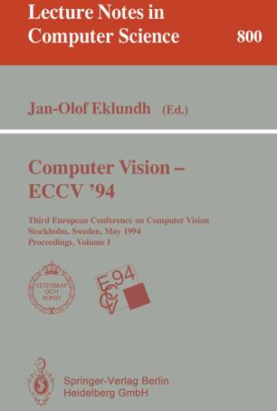 Computer Vision — ECCV '94