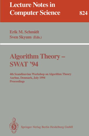 Algorithm Theory — SWAT '94