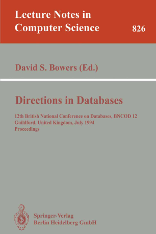 Directions in Databases
