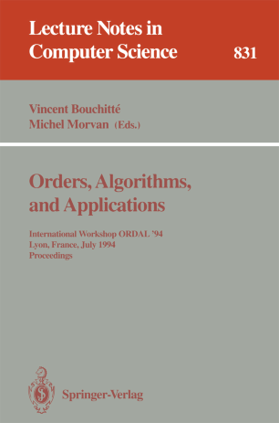 Orders, Algorithms, and Applications