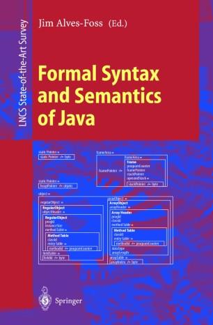 Formal Syntax and Semantics of Java