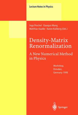 Density-Matrix Renormalization