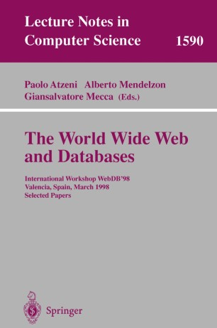 The World Wide Web and Databases