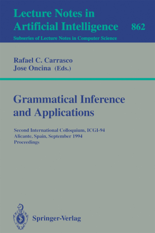 Grammatical Inference and Applications | SpringerLink
