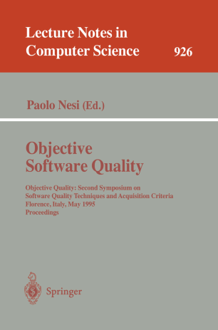 Objective Software Quality