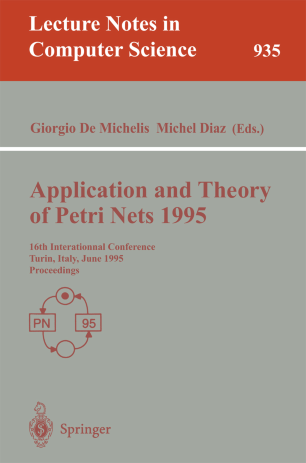 Application and Theory of Petri Nets 1995