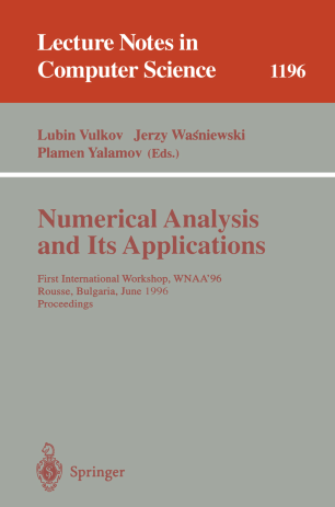 Numerical Analysis and Its Applications | SpringerLink
