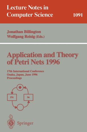 Application and Theory of Petri Nets 1996
