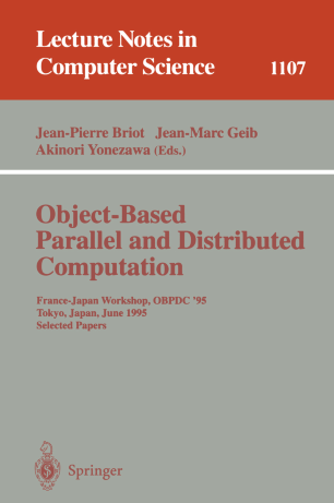 Object-Based Parallel and Distributed Computation