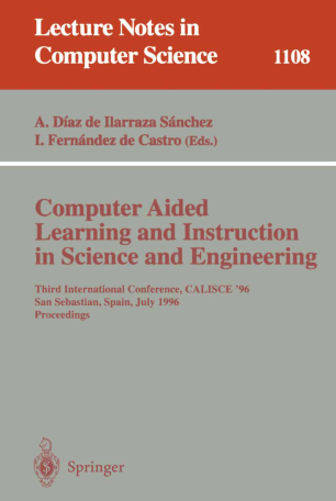 Computer Aided Learning and Instruction in Science and Engineering