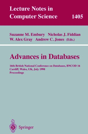 Advances in Databases | SpringerLink