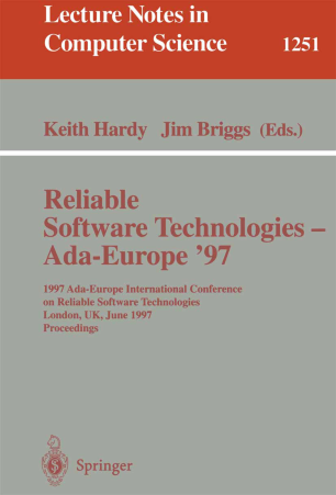 Reliable Software Technologies — Ada-Europe '97
