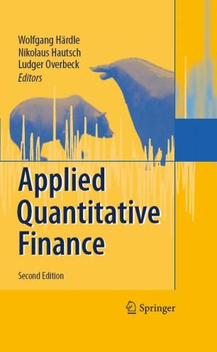 Applied Quantitative Finance | SpringerLink