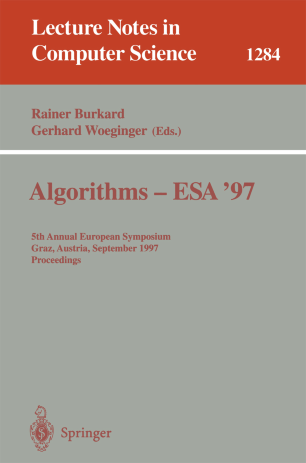 Algorithms — ESA '97