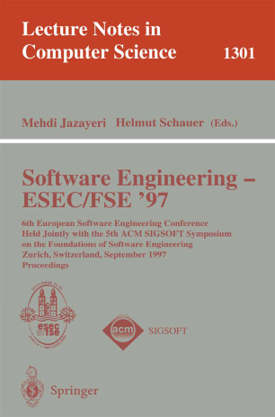 Software Engineering — ESEC/FSE'97