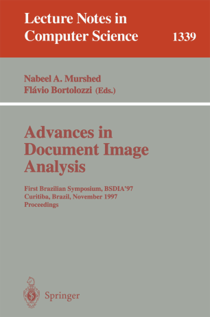 Advances in Document Image Analysis
