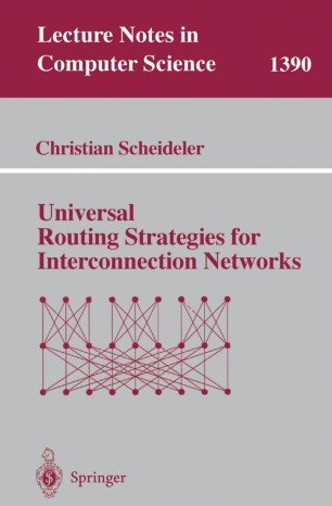 Universal Routing Strategies for Interconnection Networks