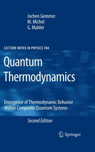 Quantum Thermodynamics | SpringerLink