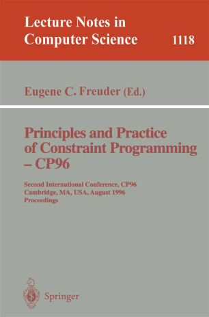 Principles and Practice of Constraint Programming — CP96