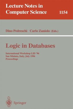 Logic in Databases