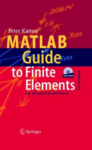 MATLAB Guide to Finite Elements | SpringerLink