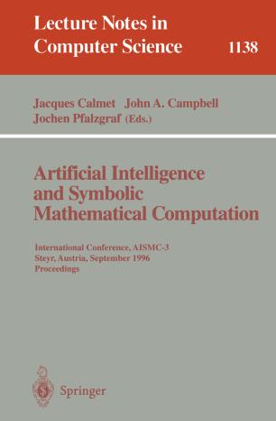 Artificial Intelligence and Symbolic Mathematical Computation