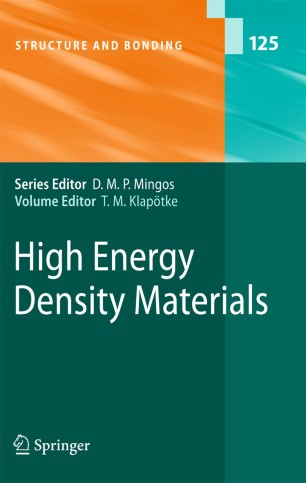 High Energy Density Materials