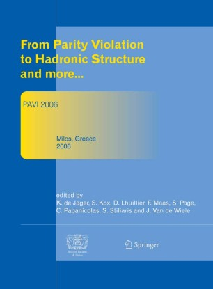 Proceedings of The 3rd Workshop From Parity Violation to Hadronic