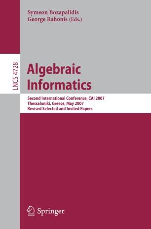 Algebraic Informatics