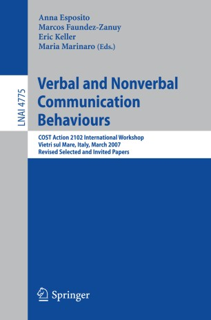 Verbal and Nonverbal Communication Behaviours | SpringerLink