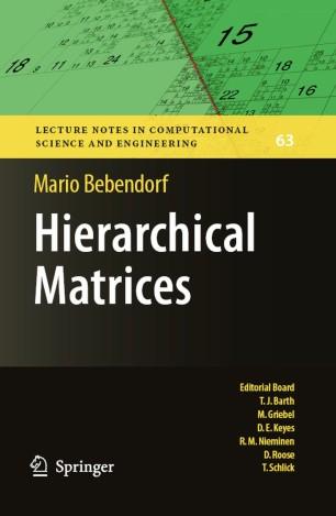 Hierarchical Matrices | SpringerLink