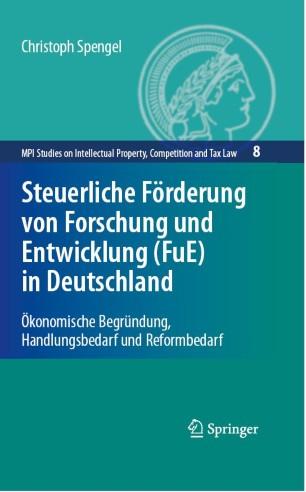 Steuerliche Förderung von Forschung und Entwicklung (FuE) in Deutschland