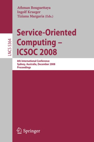 Service-Oriented Computing – ICSOC 2008