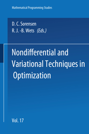 Nondifferential and Variational Techniques in Optimization