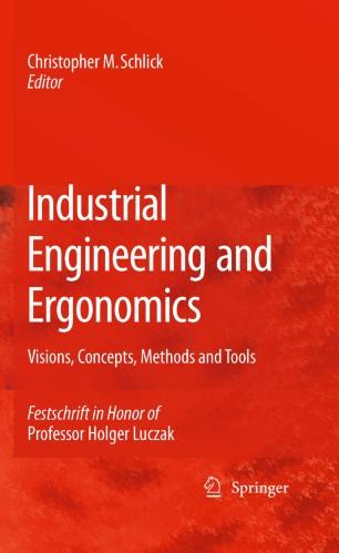Industrial Engineering and Ergonomics | SpringerLink