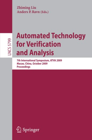 Automated Technology for Verification and Analysis